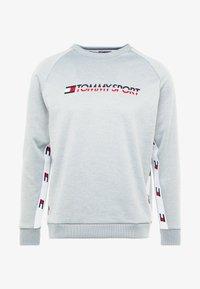 Tommy Sport - TAPE CREW LOGO - Sweatshirt - grey heather - 4