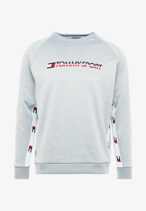 TAPE CREW LOGO - Sweatshirt - grey heather