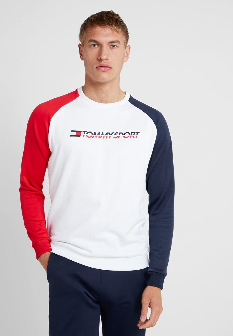 Tommy Sport - CORE CREW  - Sweatshirts - white