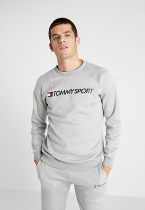 LOGO CREW NECK - Collegepaita - grey