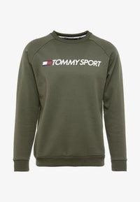 Tommy Sport - LOGO CREW NECK - Sweatshirt - green - 3