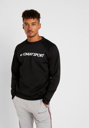 LOGO CREW NECK - Sweatshirt - black