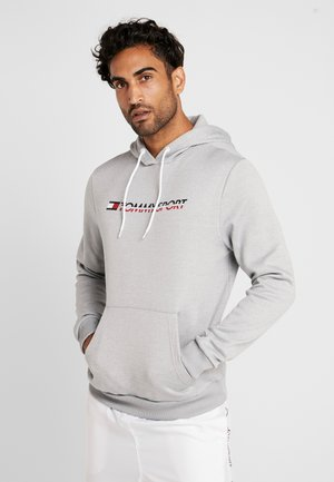 LOGO HOODY - Hoodie - grey heather