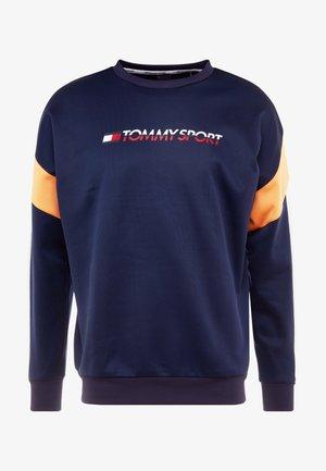 BLOCK CREW - Sweatshirt - sport navy