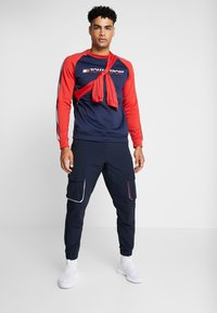 Tommy Sport - TAPE CREW - Sweater - sport navy - 1