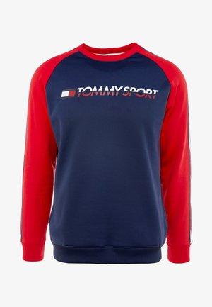 TAPE CREW - Sweatshirt - sport navy