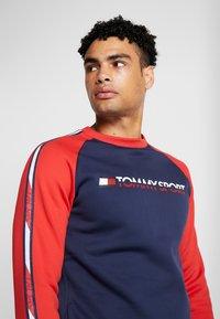 Tommy Sport - TAPE CREW - Sweater - sport navy - 3