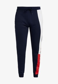 Tommy Sport - GRAPHIC FLAG - Pantalon de survêtement - sport navy - 4