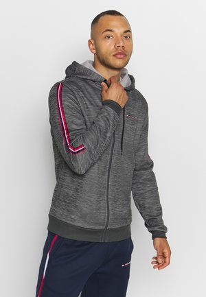 CLASSICS HOODED TOP - Zip-up hoodie - grey