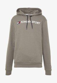 Tommy Sport - HOODY LOGO  - Bluza z kapturem - grey - 5