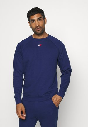 CREW LOGO  - Sweatshirt - blue