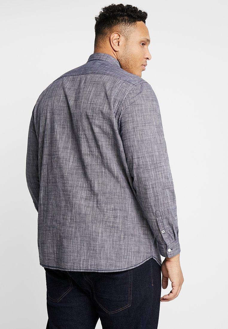 Tom StructureCamicia Blue Tailor Iris Plus Black Slub Men 4RqL5A3j