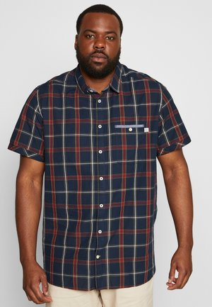 CHECK  - Chemise - navy/red