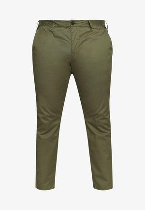 Chino kalhoty - olive night green