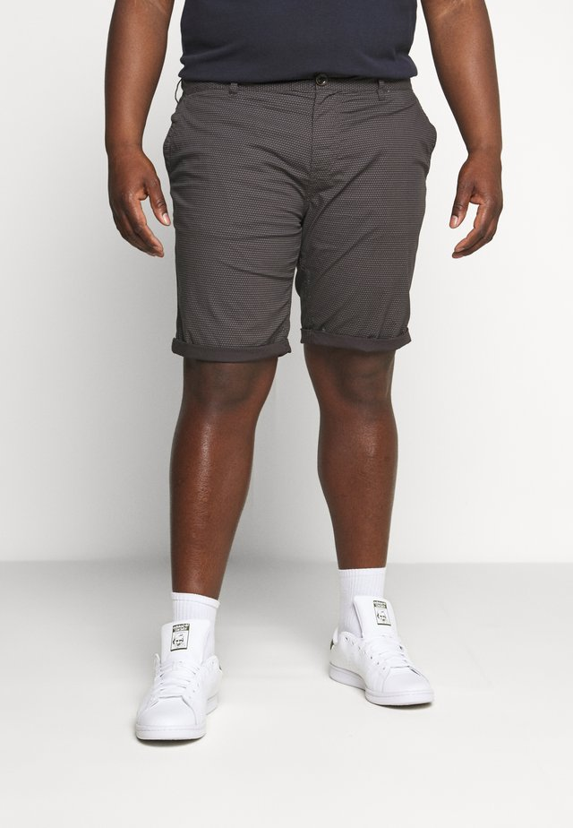 PRINTED - Shorts - dark grey