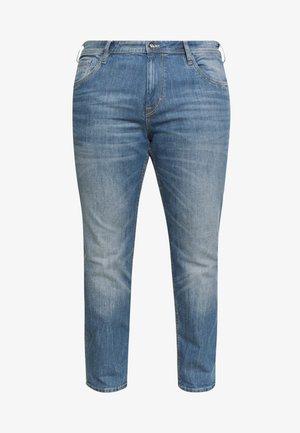 5 POCKET  - Slim fit jeans - mid stone wash denim