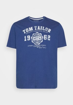 LOGO TEE - Print T-shirt - advanced blue