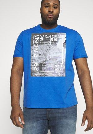 REFLECTIVE  - Print T-shirt - victory blue