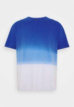 DIP DYED - Print T-shirt - shiny royal