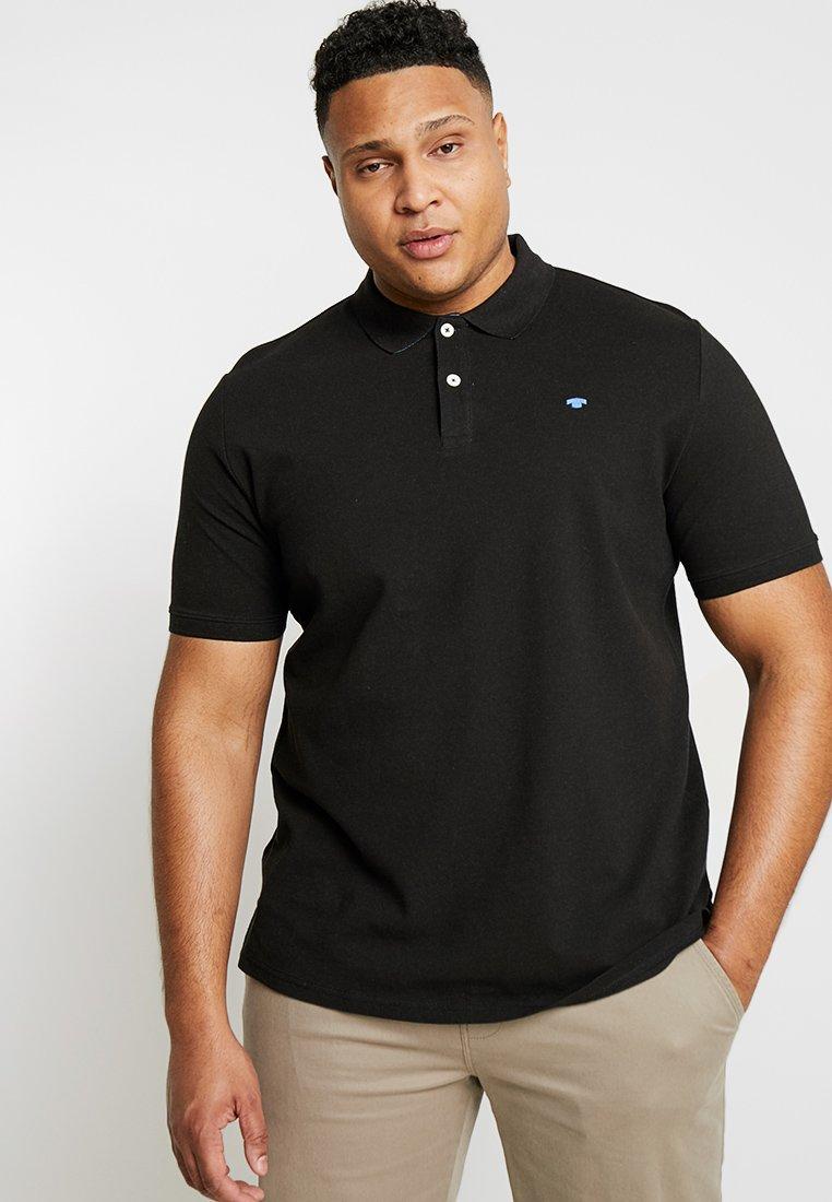 TOM TAILOR MEN PLUS - BASIC  - Poloshirt - black