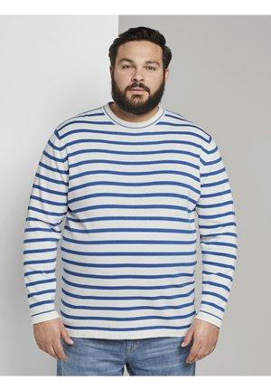 Jumper - white victory blue stripe