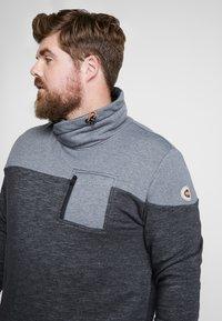 TOM TAILOR MEN PLUS - CUTLINE SNOOD - Sweater - pearl grey - 4