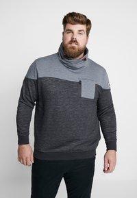 TOM TAILOR MEN PLUS - CUTLINE SNOOD - Sweater - pearl grey - 0