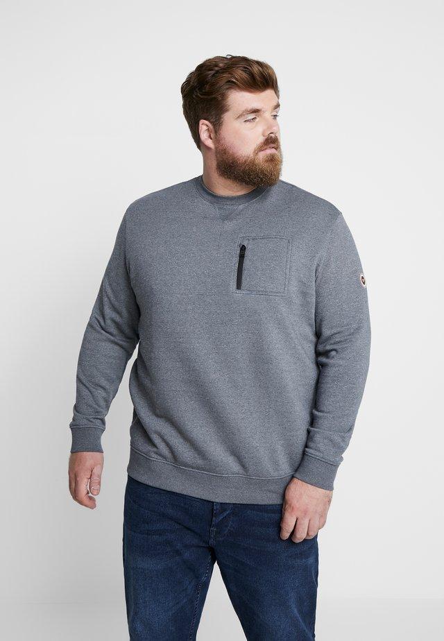 GRINDLE CREW NECK WITH POCKET - Sweatshirt - grey