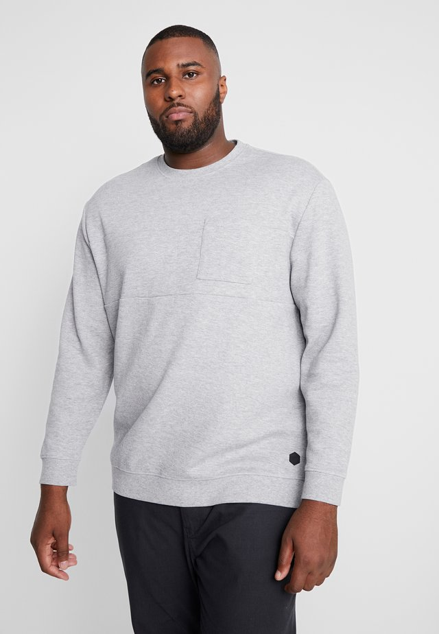 Sweater - middle grey melange
