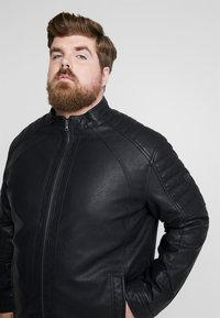 TOM TAILOR MEN PLUS - Skinnjakke - black - 3