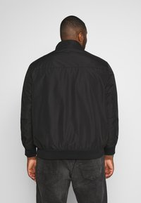 TOM TAILOR MEN PLUS - BASIC BLOUSON JACKET - Bomberjacks - black/grey - 2