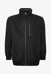 TOM TAILOR MEN PLUS - BASIC BLOUSON JACKET - Bomberjacks - black/grey - 4