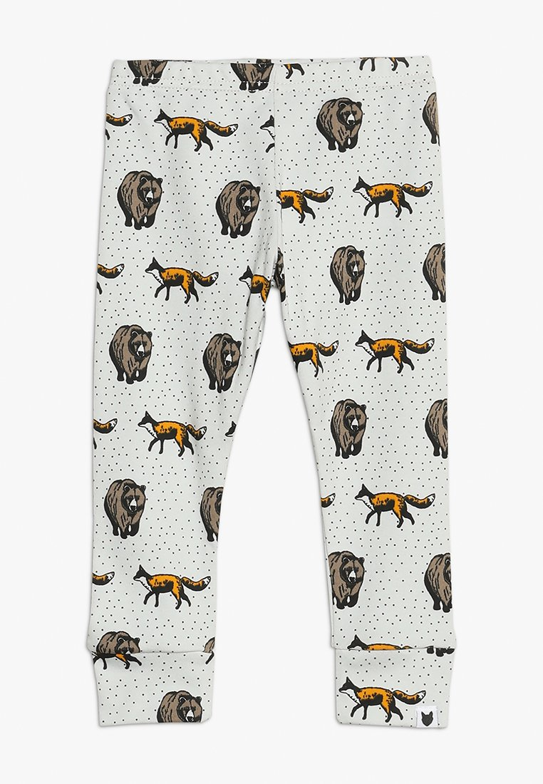 Tobias & The Bear - BABY THE FOX AND THE BEAR - Leggings - pale stone