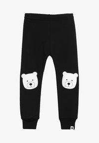 Tobias & The Bear - BABY BEAR PORTRAIT - Leggings - black - 3