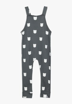 BEAR DUNGAREES BABY - Dungarees - charcoal