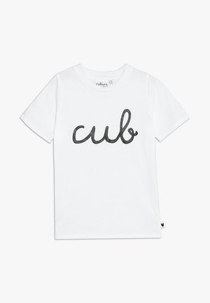 BABY CUB TEE - T-shirt med print - white
