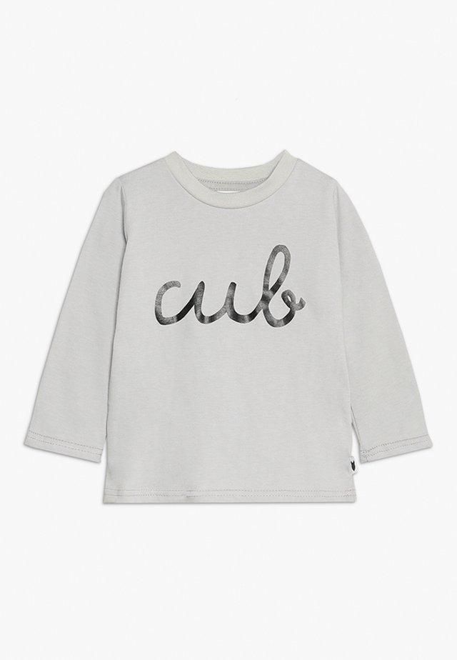BABY CUB LONG TEE - Langarmshirt - grey marl