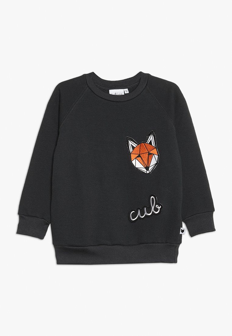 Tobias & The Bear - BABY ICONS BADGE - Sweater - charcoal grey