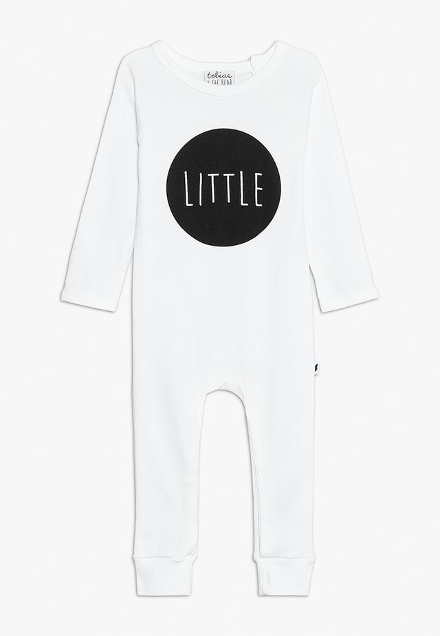 BABY LITTLE LONG ROMPER - Pyjama - white
