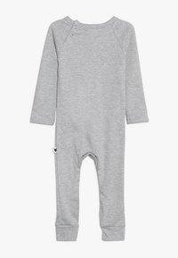 Tobias & The Bear - BABY JUST CALL ME FOX LONG ROMPER - Pyjamaser - grey marl - 1