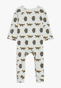 Tobias & The Bear - BABY THE FOX AND THE BEAR LONG ROMPER - Pyjama - pale stone - 1