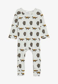 Tobias & The Bear - BABY THE FOX AND THE BEAR LONG ROMPER - Pyjamaser - pale stone - 3