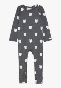 Tobias & The Bear - BEAR ROMPER BABY - Pyžamo - charcoal - 0