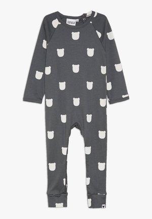 BEAR ROMPER BABY - Pyžamo - charcoal