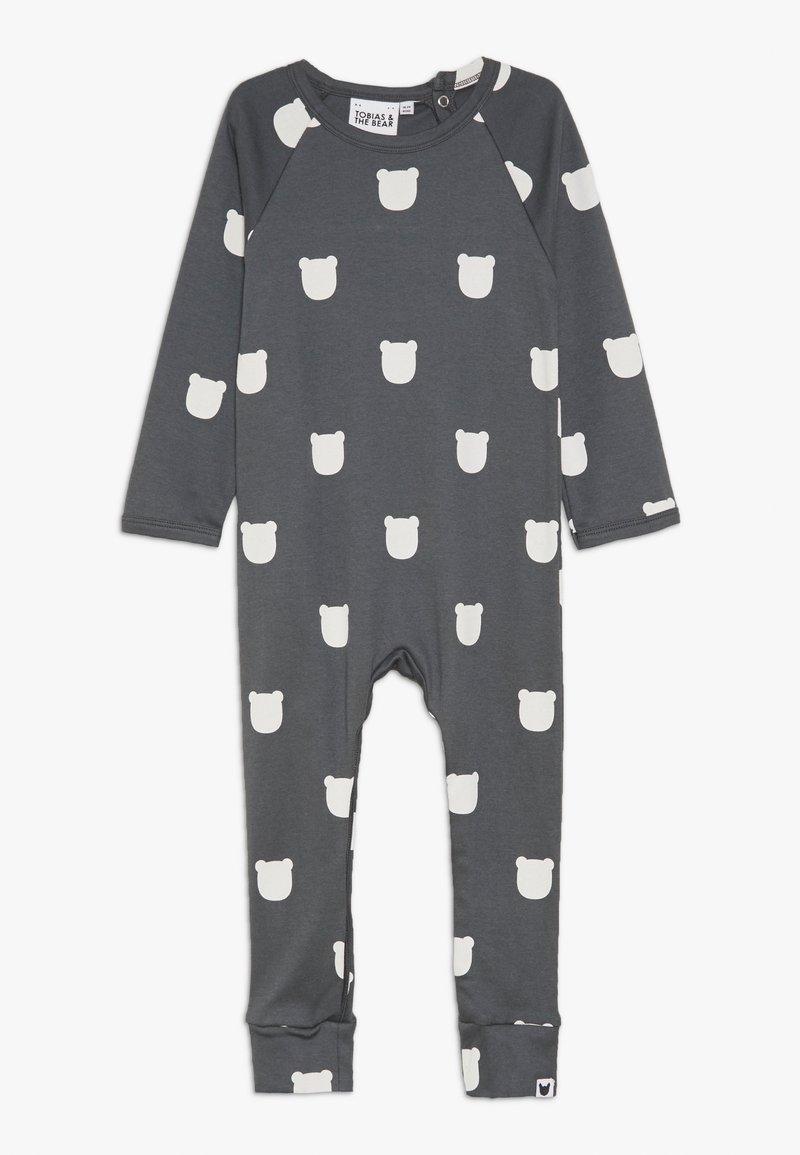 Tobias & The Bear - BEAR ROMPER BABY - Pyžamo - charcoal