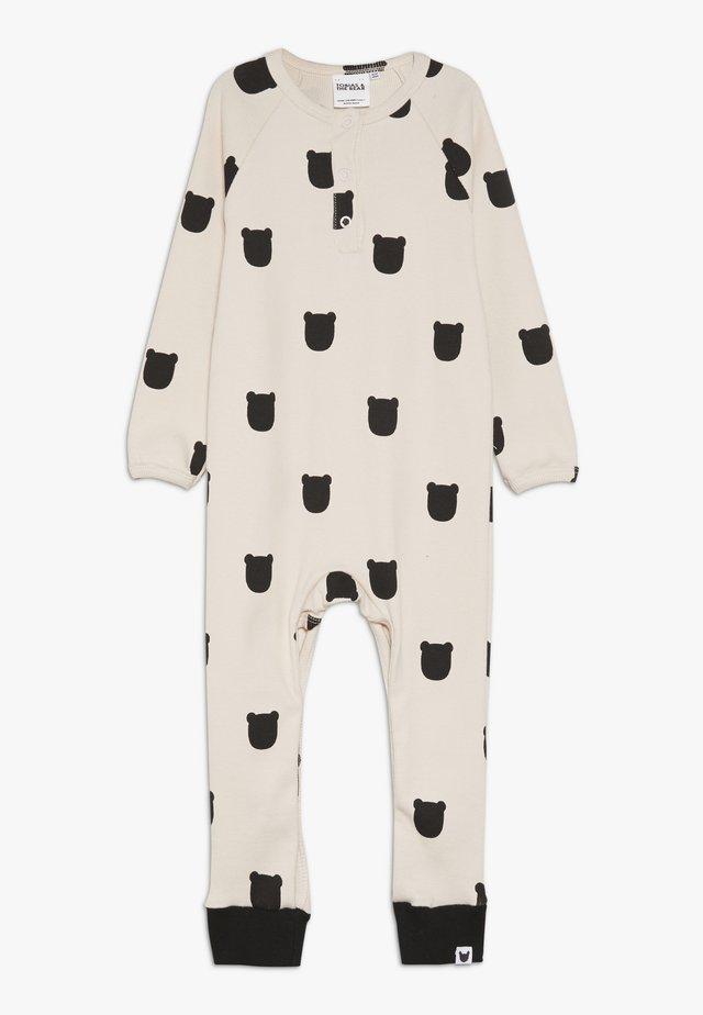 LONG PLACKET ROMPER BABY - Pyjama - blush