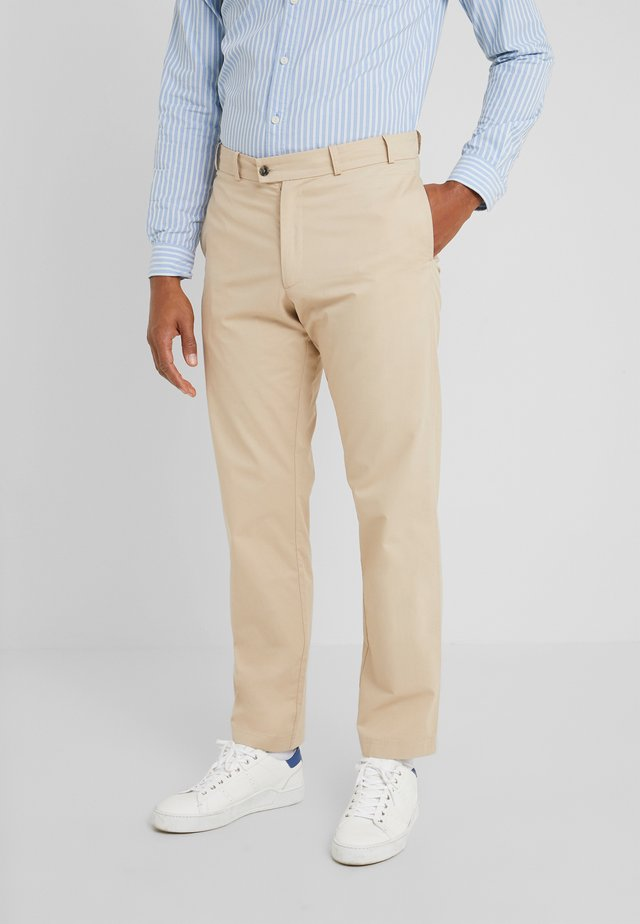 DAVE - Trousers - beige