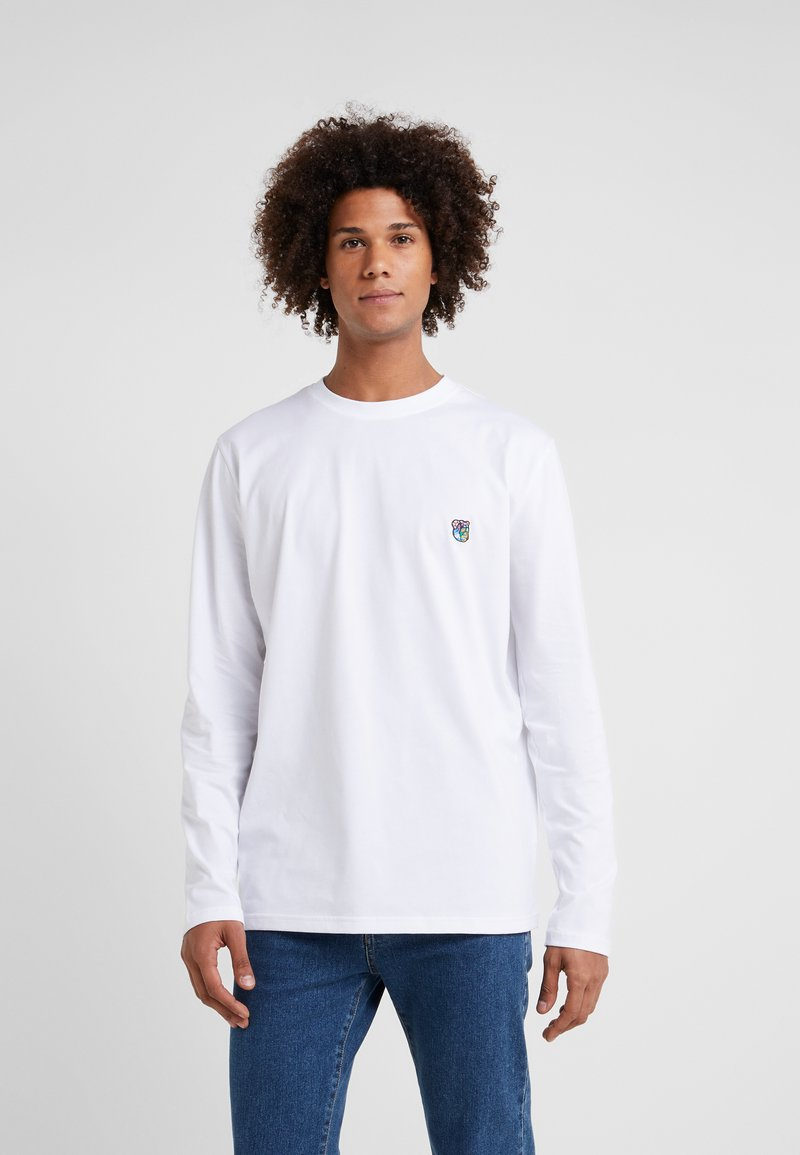 Tonsure - DAVID - Langærmede T-shirts - white copenhagen teddy