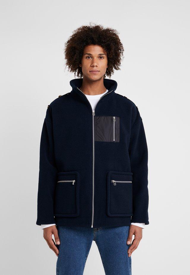 CHAS - Fleece jacket - dark navy