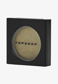 Topshop Beauty - METALLIC EYESHADOW - Eye shadow - KHA cricket - 0